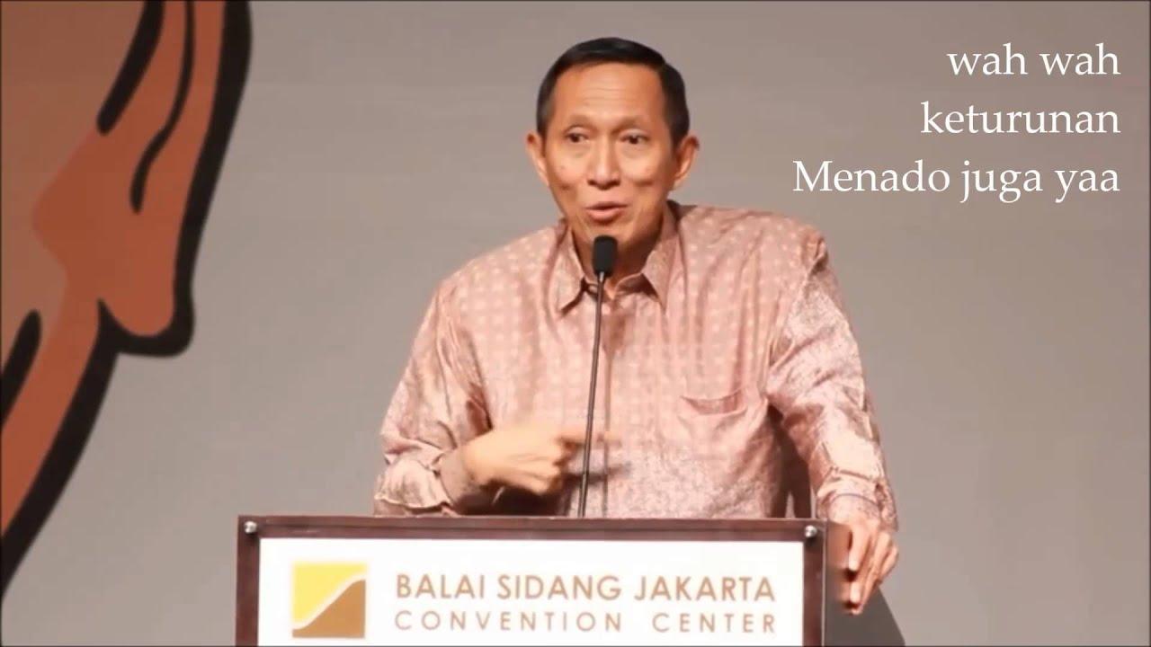 Johannes Suryo Prabowo ... pelawak yang sangat gagal - YouTube