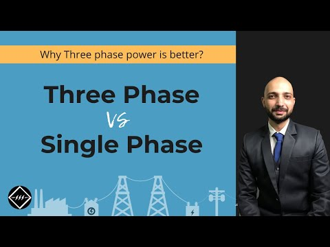 1 Phase Power Vs 3 Phase Power | Easiest Explanation | TheEl