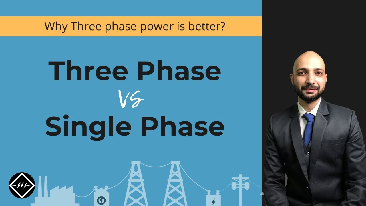 1 Phase Power Vs 3 Phase Power Easiest Explanation