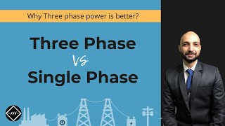 1 Phase Power Vs 3 Phase Power | Easiest Explanation | TheElectricalGuy