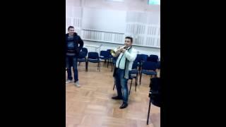 Demir kan taksim 2016 trumpet in C high notes
