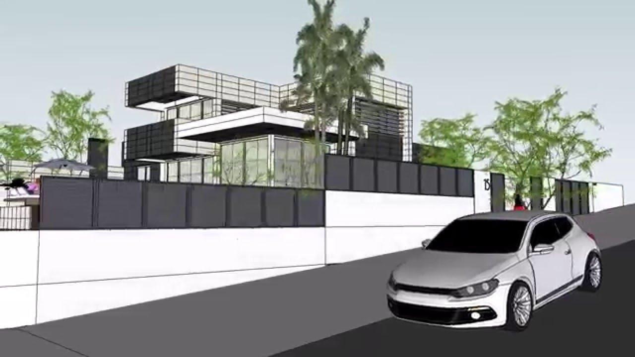 Taller de arquitectura tarragona casa minimalista 5 youtube for Casa minimalista tarragona