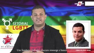 Fábio de Jesus Silva, secretário LGBTT PT-RP