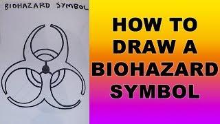 How to Draw a Biohazard Symbol