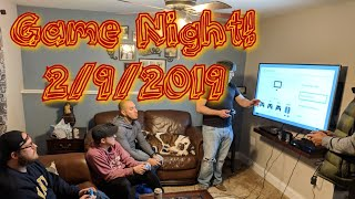 Game Night 2/9/19 Featuring Super Smash Bros. Ultimate and GoldenEye 007.