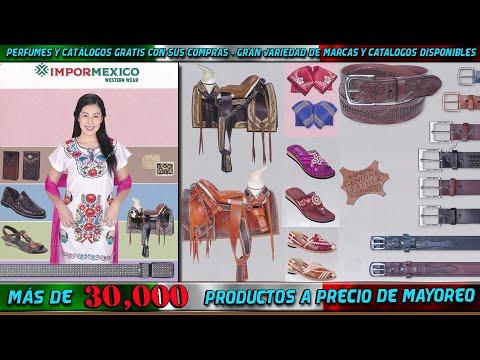 #582 Catálogo Importaciones de Productos de México al por mayor