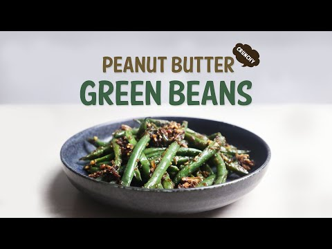 Green Beans with Peanut Butter   Recipe