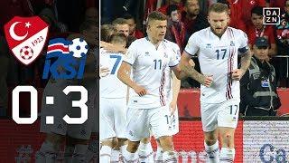 Blamage! Türkei nicht zur WM: Türkei - Island 0:3 | Highlights | WM-Quali | DAZN