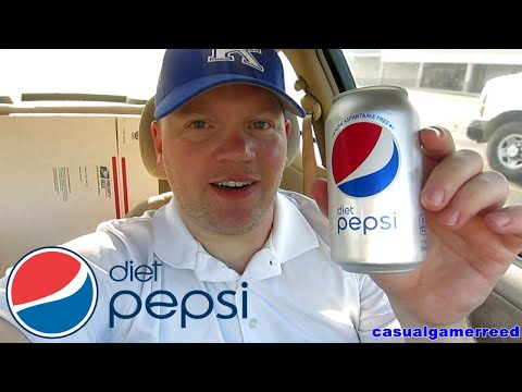Reed Reviews Diet Pepsi Aspartame Free