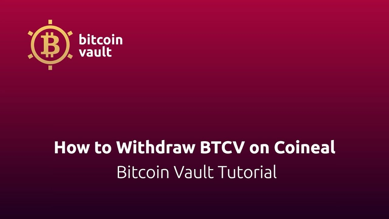 Bitcoin How To Withdraw