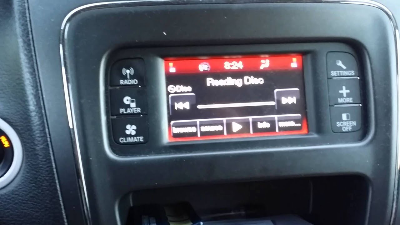 2012 Dodge Journey Radio Problem - YouTube