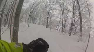 Madarao Mountain Resort - Powder Day 03-01-2013