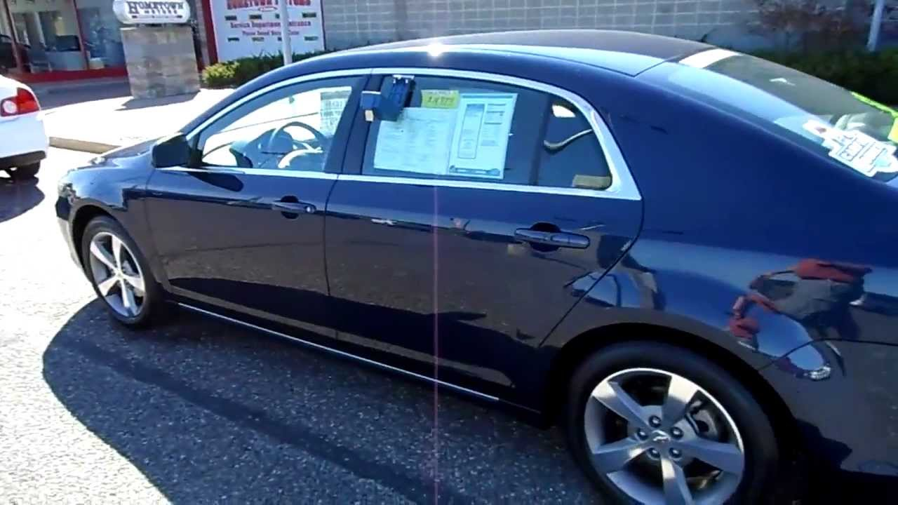2011 Chevrolet Malibu Lt Dark Blue Hometown Motors Of