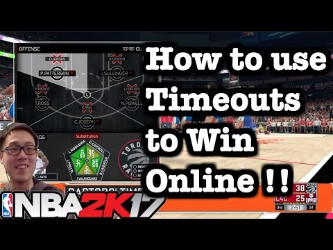 NBA 2K17 Tips Best online offense tips and tricks. How to use timeouts in 2K17 tutorial #31