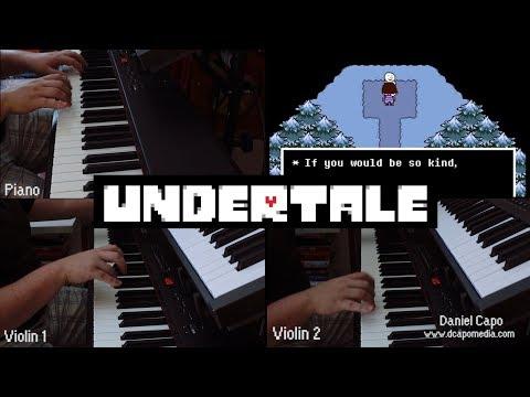 Undertale ~ Snowy (Piano Cover)
