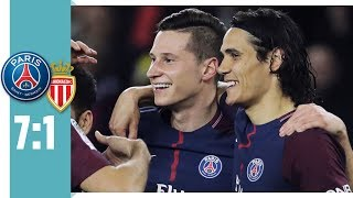 Draxler trifft! Meister-Party in Paris | Paris St. Germain - AS Monaco 7:1