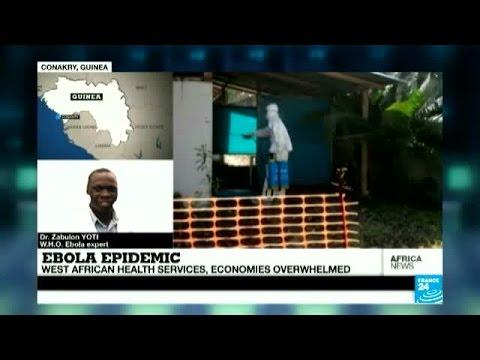 Ebola Epidemic - West African economies overwhelmed