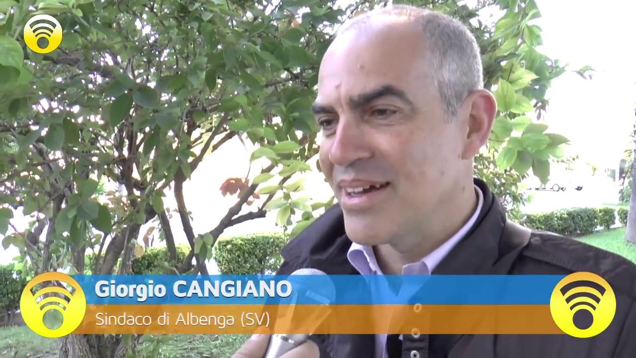 Albenga: il Sindaco Cangiano chiarisce la posizione in merito alla vicenda del cane antidroga alla Polizia Municipale: video #1