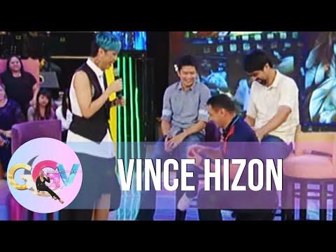 Vince Hizon re-enacts wedding proposal to Vice Ganda