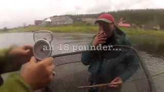 Salmon Fly Fishing in Russia - Umba 2014