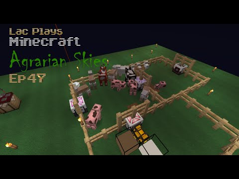 Lac Plays FTB Agrarian Skies Where Do I Get Pink Slime?