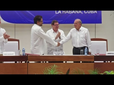 Peace at last in Colombia after 50-year conflict