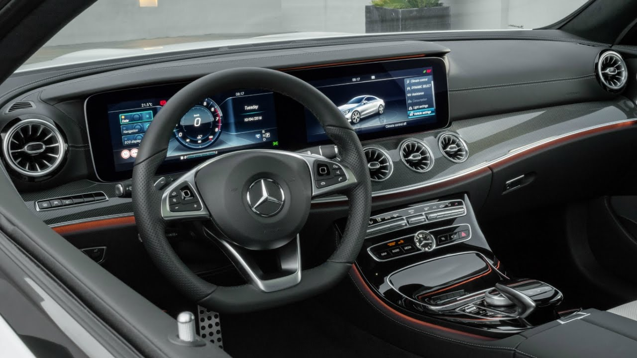 E400 Coupe 2018 >> 2018 Mercedes E-Class Coupe Edition 1 Interior - YouTube