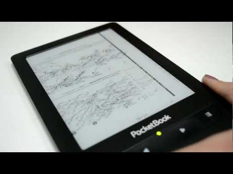 PocketBook Touch. PDF pinch to zoom