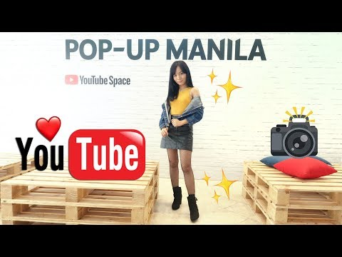 MUST-SEE! THE YOUTUBE POP-UP SPACE in MANILA!! (ANONG MERON SA LOOB?!)