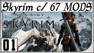 Skyrim! 1. Jogando Com 67 Mods! Gameplay em Português PT-BR