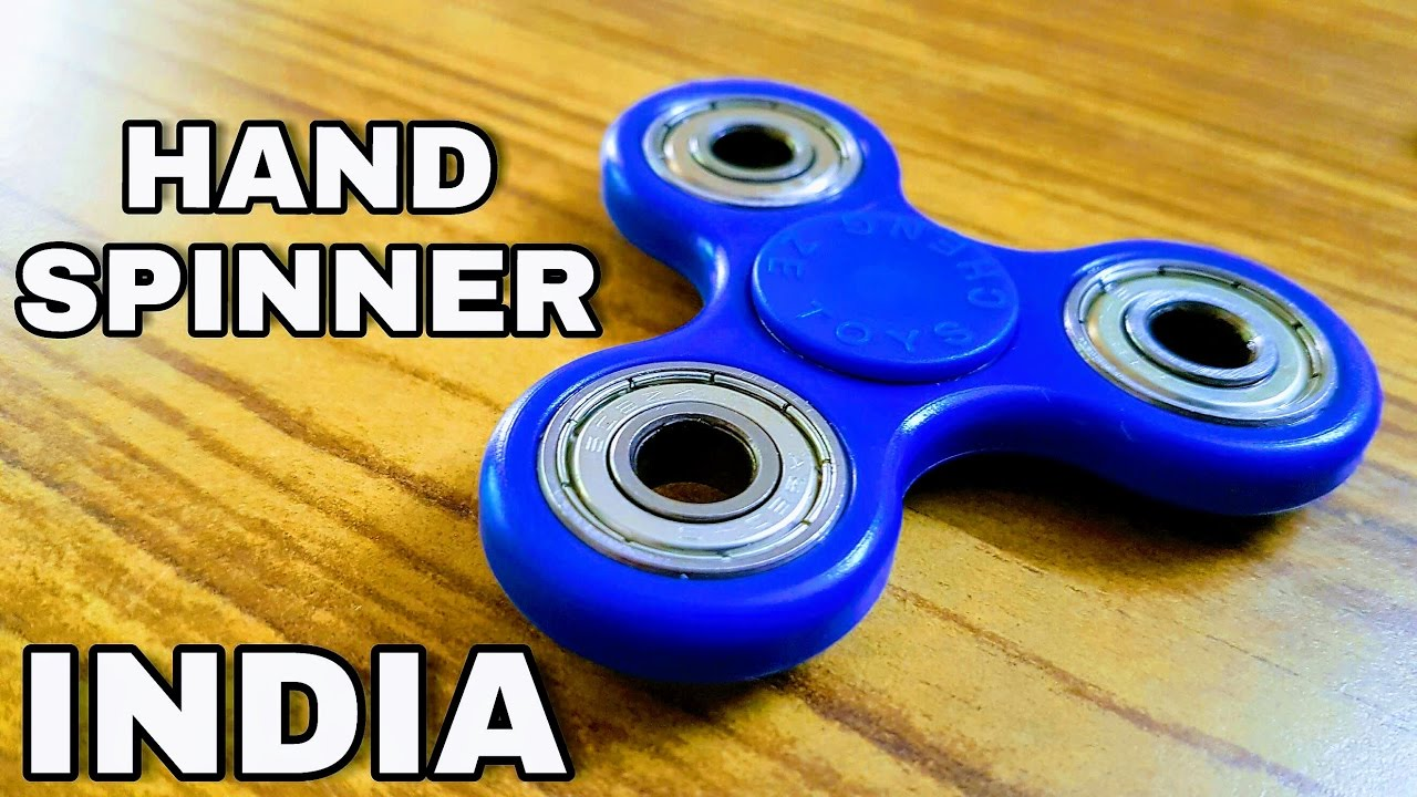 My First Fidget Spinner Unboxing From Amazon India Hand Spinner