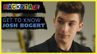Get to Know Josh Bogert from Backstage