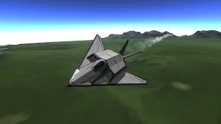 F-117 Nighthawk Speedbuild [KSP-1.0]