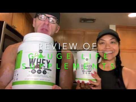 Gauge Life Nutrition Supplements Review - Clean Supplements Gaugirl training Christine Hronec