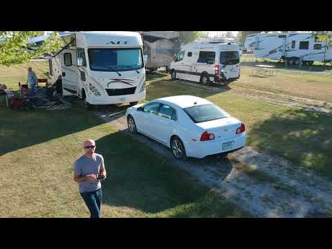 Amana Colonies Campground - DJI Spark Drone RAW