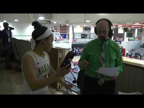 Highland Women's Basketball Postgame vs Macomb (NJCAA DII National Tournament First Round)