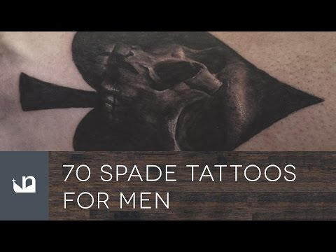 70 Spade Tattoos For Men