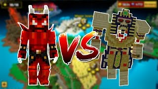Pixel Gun 3D - Demon Stone vs All Bosses Campaign