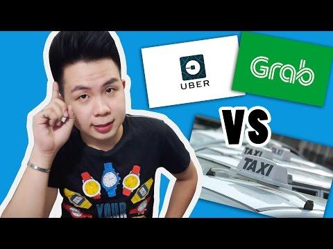 UBER & GRAB VS REGULAR TAXI