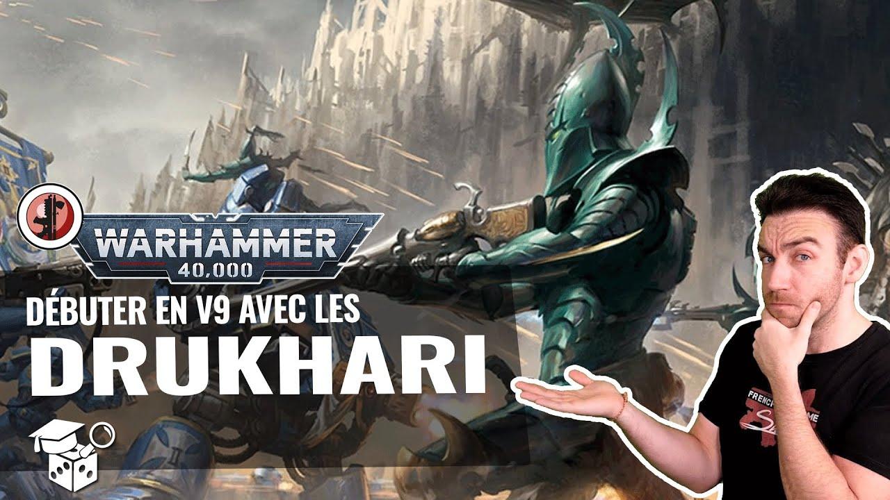 Download Warhammer 40.000 : Débuter en v9 avec les Drukhari