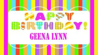 GeenaLynn   Wishes & Mensajes - Happy Birthday