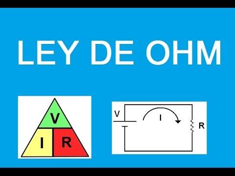 Tutorial (Explicacion) Ley de Ohm  Ejercicios Resueltos Circuitos Electricos