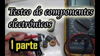 Video Testeo de componentes electronicos, testing of electronic components download MP3, 3GP, MP4, WEBM, AVI, FLV November 2018