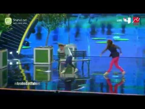 Arabs Got Talent - كارن وتلما- عرض النصف نهائيات