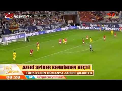 Azeri sipikerden Türkiye'nin futbol zaferi