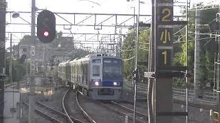 西武鉄道6102F 準急西武新宿行 拝島線から小平到着