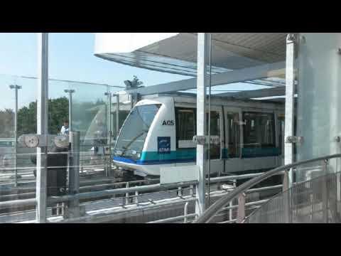 STAR métro de Rennes annonce station et P+R La Poterie Terminus