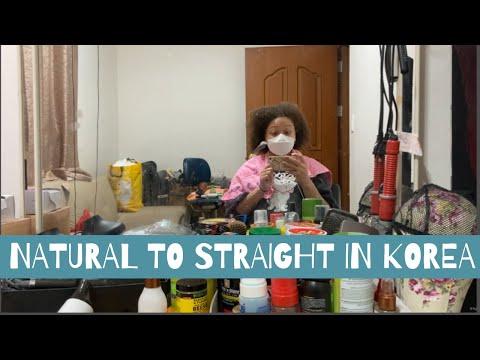 KOREA VLOG | My First Time in Daegu | Getting My Hair Straightened 💁🏽♀️