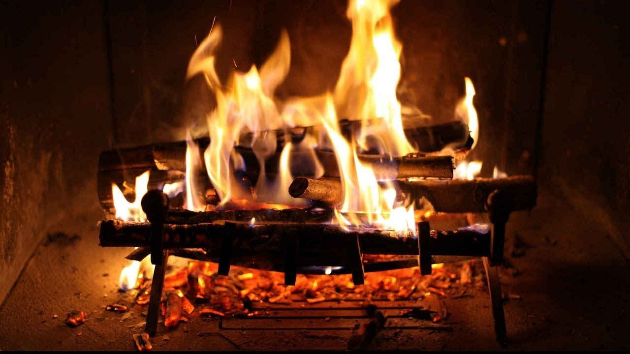 relaxing fireplace and perfect crackling fire belle chemin e et parfait cr pitement du feu hd. Black Bedroom Furniture Sets. Home Design Ideas