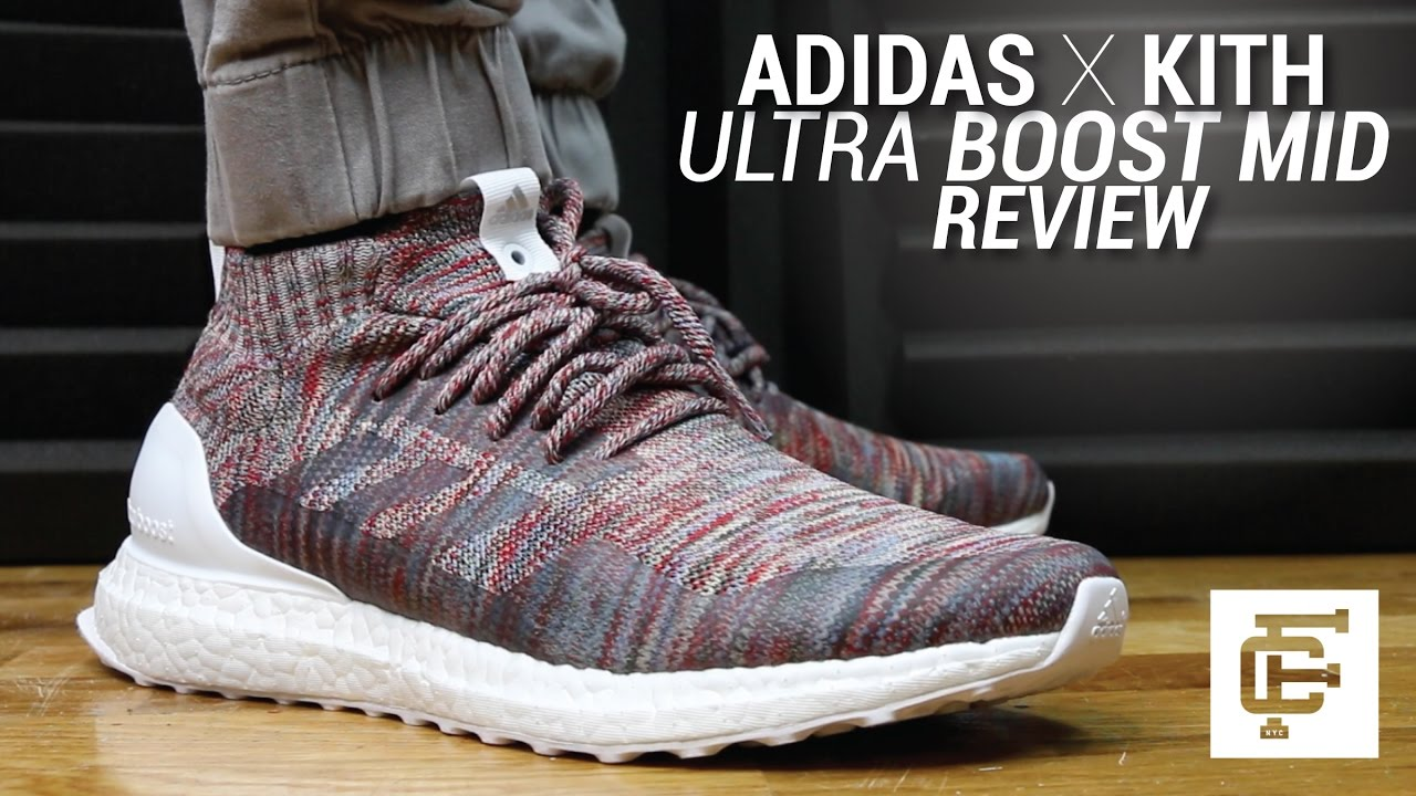 02d993cce2ce1 ADIDAS X KITH ULTRA BOOST MID REVIEW - YouTube